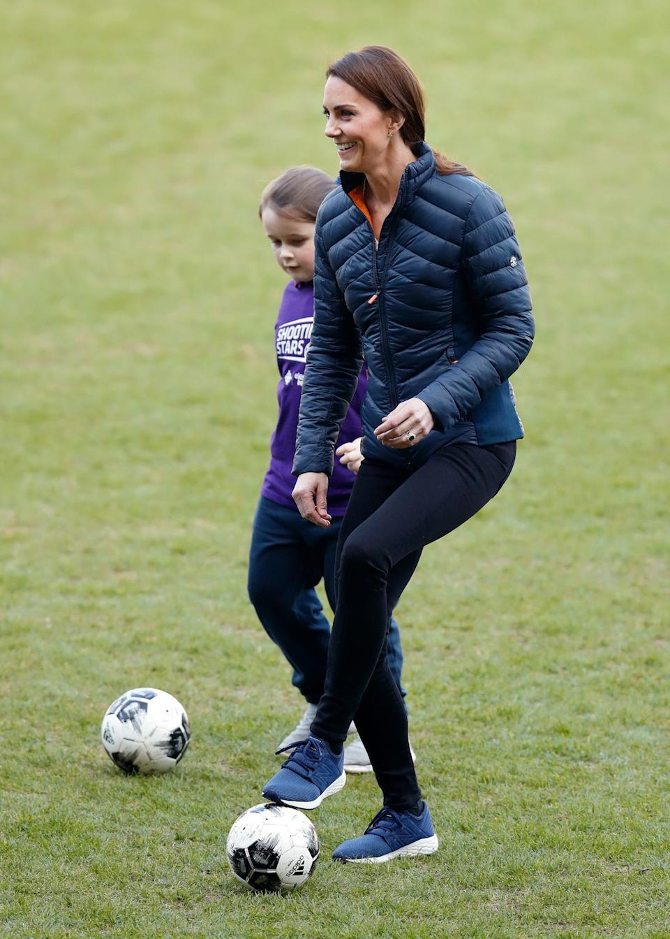 Kate Middleton football