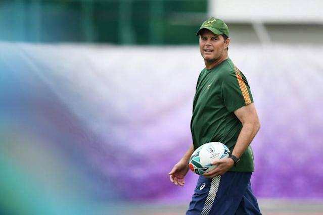 Rassie Erasmus has 'transformed' the Boks since taking charge in February (AFP Photo/CHARLY TRIBALLEAU)