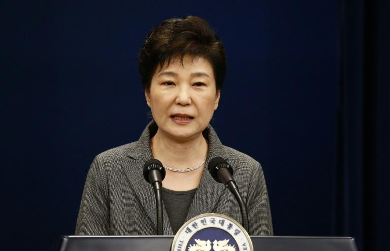 South Korea's impeached ex-president Park Geun-Hye left the presidential Blue House, two days after the Constitutional Court's verdict removing her from office over a massive corruption scandal