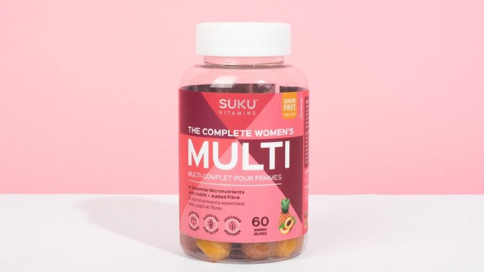 SUKU Vitamins The Complete Women's Multi. (Image via SUKU Vitamins)