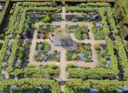 <p>Spring from the air by Oliver Dixon (Loseley Park, Surrey).</p><p>Oliver Dixon scooped the prestigious title of Overall Winner for his image Spring from the Air. Entered into the Gardens category, the striking aerial shot gives a rarely seen glimpse of the intricate and symmetrically pleasing design of The Flower Garden at Loseley Park, Surrey. </p><p>Judges praised the astonishing detail of the image, which used texture, colour and design to give the photo a tapestry-like feel.</p><p>'The adult winning image by Oliver Dixon not only celebrates everything about spring, but the linear symmetry to it makes it pleasing to the eye,' says Chris Young, Chair of Judging for the& RHS Photographic Competition.</p>