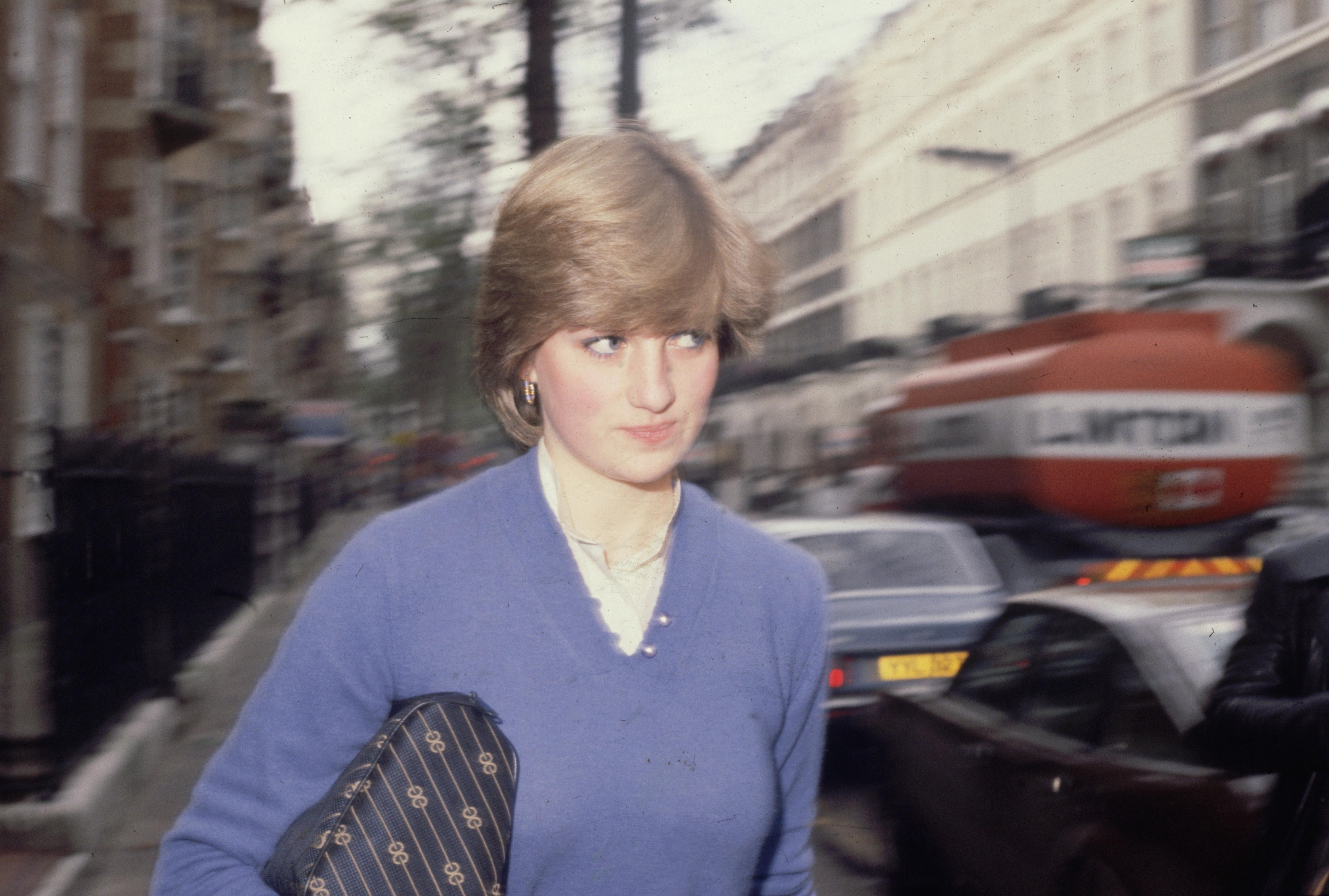 January 1981: Lady Diana Spencer (1961 - 1997) before her marriage to Prince Charles. (Photo by Fox Photos/Getty Images)