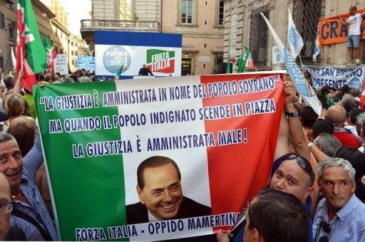 Italy 'faces financial storm' over Berlusconi