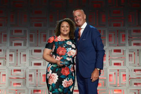Aramark Names Diversity Champion, Natily Santos, 2019 Service Star Volunteer of the Year for Extraordinary Volunteer Service