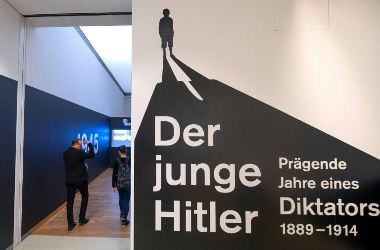 "The exhibition, entitled ""Young Hitler: the Formative Years of a Dictator"" opens in Sankt Poelten on Saturday (AFP Photo/JOE KLAMAR)"