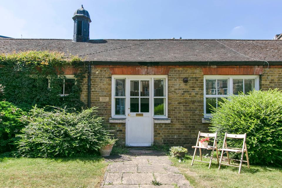 Offers over £475,000: this one-bedroom cottage has been listed for sale in a former school near Elephant & Castle Tube station (Stirling Ackroyd)