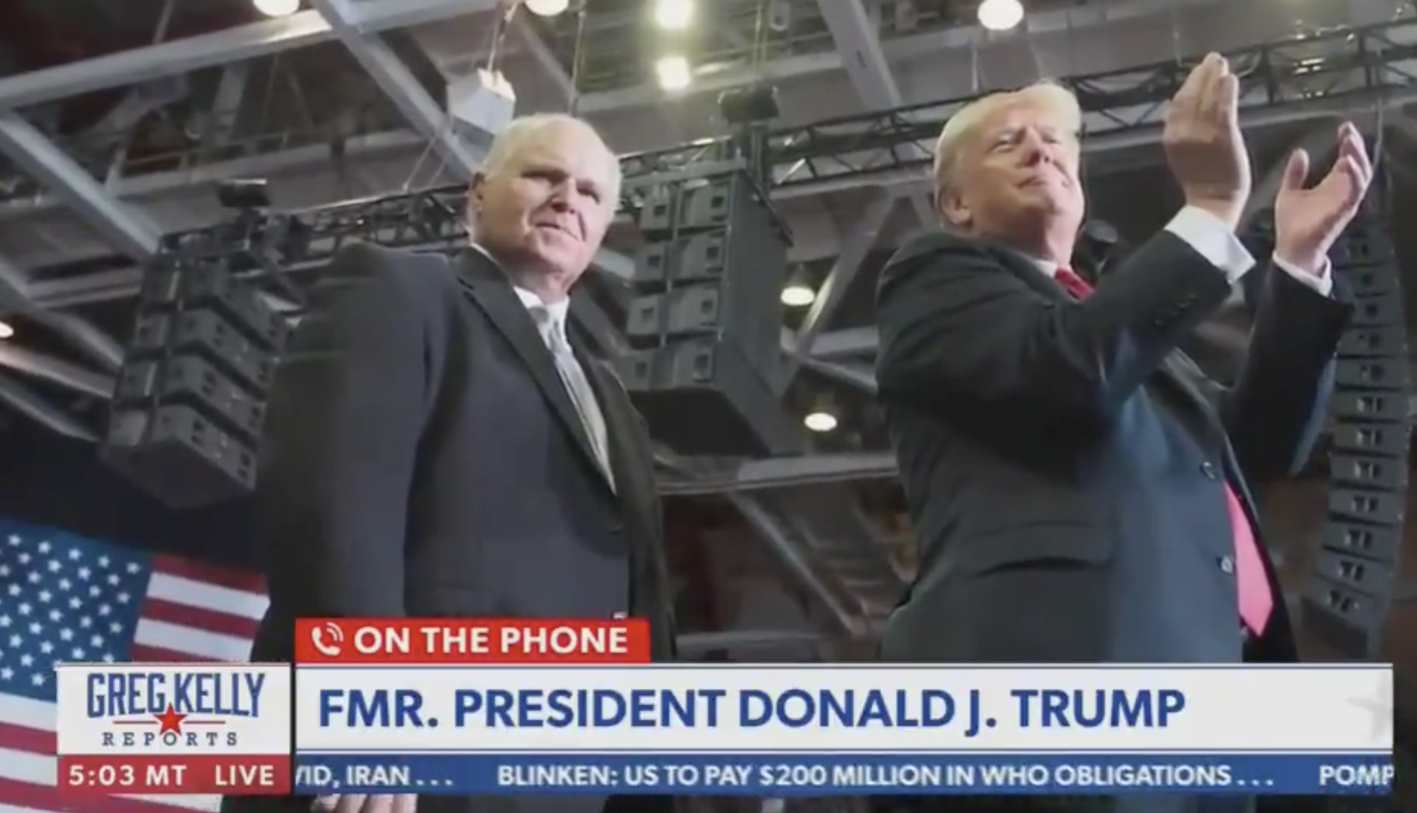 Trump takes right-wing media tour but says it's 'too early' to talk 2024 - Yahoo News