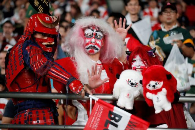 FILE PHOTO: Rugby World Cup 2019 - Quarter Final - Japan v South Africa