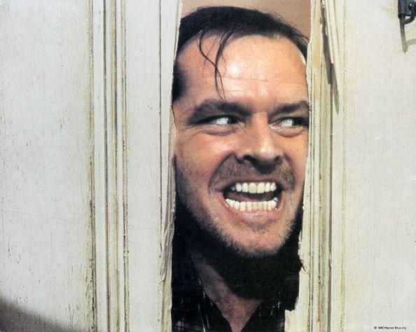 """<p>One of the film's most iconic lines wasn't even in the script. Jack Nicholson <a href=""""https://www.irishtimes.com/culture/film/watch-jack-nicholson-psyching-up-for-the-shining-s-axe-scene-1.2746337"""" rel=""""nofollow noopener"""" target=""""_blank"""" data-ylk=""""slk:ad libbed the famous Ed McMahon line"""" class=""""link rapid-noclick-resp"""">ad libbed the famous Ed McMahon line</a> from <em>The Tonight Show</em> while filming the scene in which his character Jack takes an ax to the bathroom door. The line worked, and it stayed in the film.</p>"""