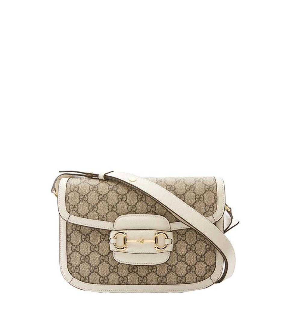 """<p><strong>Gucci</strong></p><p>ShopBAZAAR.com</p><p><strong>$2350.00</strong></p><p><a href=""""https://go.redirectingat.com?id=74968X1596630&url=https%3A%2F%2Fshop.harpersbazaar.com%2Fdesigners%2Fgucci%2F1955-horsebit-shoulder-bag-61687.html&sref=https%3A%2F%2Fwww.harpersbazaar.com%2Ffashion%2Ftrends%2Fg35048473%2Fbags-for-2021%2F"""" rel=""""nofollow noopener"""" target=""""_blank"""" data-ylk=""""slk:Shop Now"""" class=""""link rapid-noclick-resp"""">Shop Now</a></p><p>The archival shoulder bag designed by Gucci has been redesigned for the modern woman. We can't get enough of the classic logo print as it makes its way into this equestrian-centric piece.</p>"""