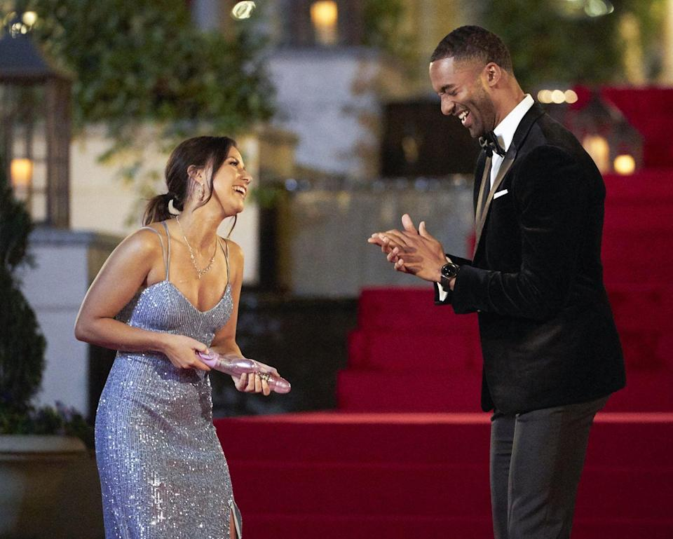 "<p>It's literally part of Chris Harrison's job to make things as awkward as possible. ""I relish, and maybe it's because I've been a part of this so long, I really enjoy awkward moments,"" he told <a href=""https://abcnews.go.com/2020/Bachelor/bachelor-scenes-secrets-casting-grooming/story?id=10042211"" rel=""nofollow noopener"" target=""_blank"" data-ylk=""slk:ABC"" class=""link rapid-noclick-resp""><em>ABC</em></a>. ""I mean, I love creating them, I like seeing how people react. I don't mind it at all.""</p>"
