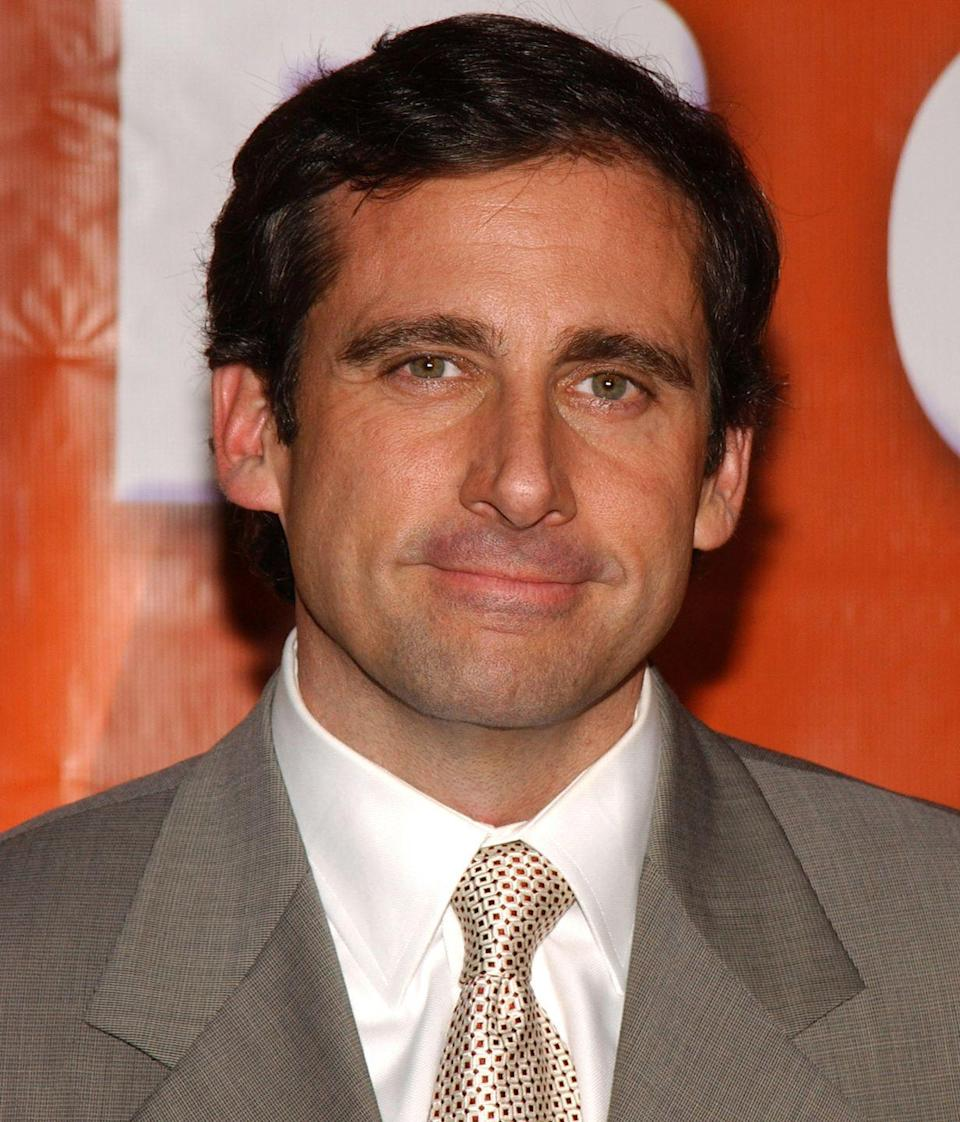 <p>A fresh-faced Steve Carell skyrocketed onto the scene in 2005 thanks to <em>The Office</em>. His clean-cut look was nice, but nothing out of the ordinary.</p>