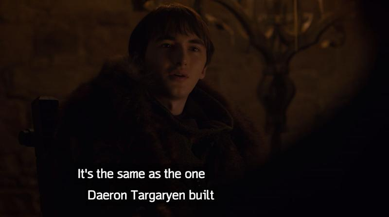Bran wasting a lot of time in Season 8. (Photo: HBO)