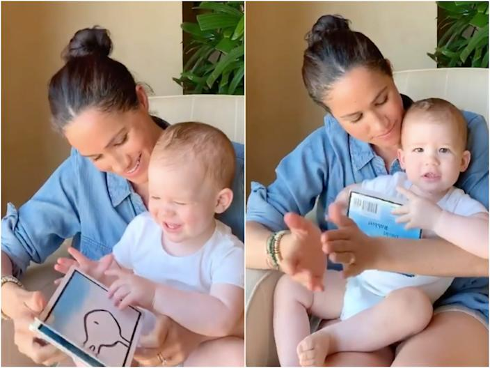 meghan markle and archie birthday