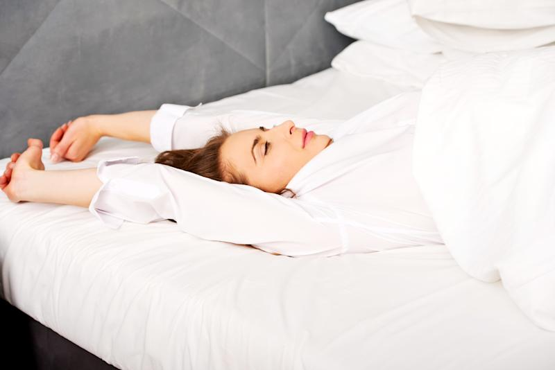 Change your sleep by changing your sheets. (Photo: Getty Images)