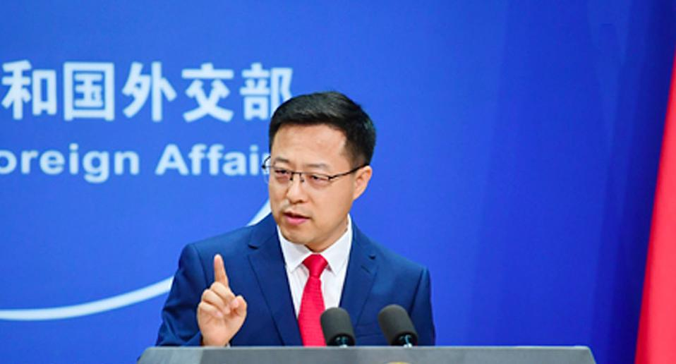 Foreign Ministry spokesperson Zhao Lijian hit out at those in Australia trying to smear China's growing relations in the Pacific.