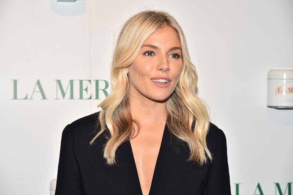 NEW YORK, NEW YORK - OCTOBER 03: Sienna Miller attendss La Mer By Sorrenti Campaign at Studio 525 on October 03, 2019 in New York City. (Photo by Theo Wargo/Getty Images)