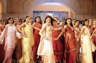 "<p>""Who wouldn't remember Kareena [Kapoor]'s asymmetrical top with shararas in <strong>Kabhi Khushi Kabhi Gham</strong>? They're still in fashion today! It's a contemporary outfit and will always be. We paired it with a small teeka and loose hair to complete the look in our own way. Her outfit was born out of tradition but aged in modernity. At that time, NRI (Non-Resident Indian) culture used to really astound me. The millennials were really torn between their environment and family values, which were completely different from the world they were living in. I wanted to show this paradox. Her look was modern/western, but the essence was Indian, and the result was that it resonated so well with girls across the country and worldwide.""</p>"