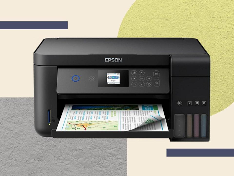 Epson says that by using tanks instead of notoriously expensive cartridges, users can save up to 90 per cent on ink cost (The Independent/iStock)