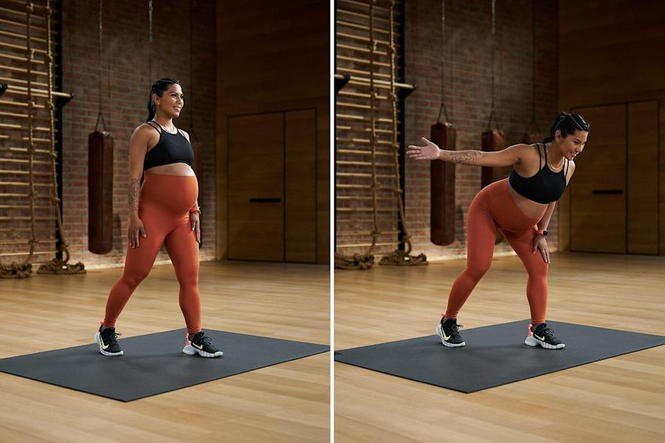 5 Prenatal Moves for Total-Body Strength, from Apple Fitness+