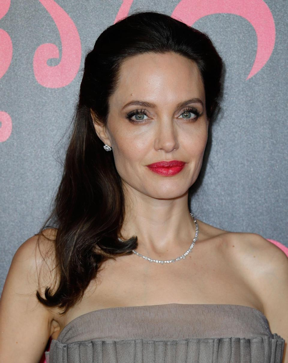 Angelina Jolie arrives at the <i>First They Killed My Father</i> premiere in September 2017. (Photo: Gotham/Getty Images)