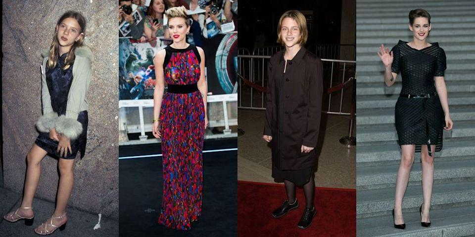 <p>Growing up in Hollywood may bring some quirks, but walking the red carpet before you hit puberty is indisputably a perk. From Emma Watson to Drew Barrymore, see the celebrities who made their public debut as kids.</p>