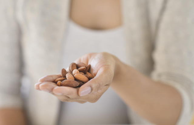 A handful of nuts twice a week or more could cut the risk of heart disease. (Photo: Getty Images)