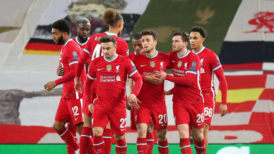 Liverpool FC v FC Midtjylland: Group D - UEFA Champions League | Pool/Getty Images