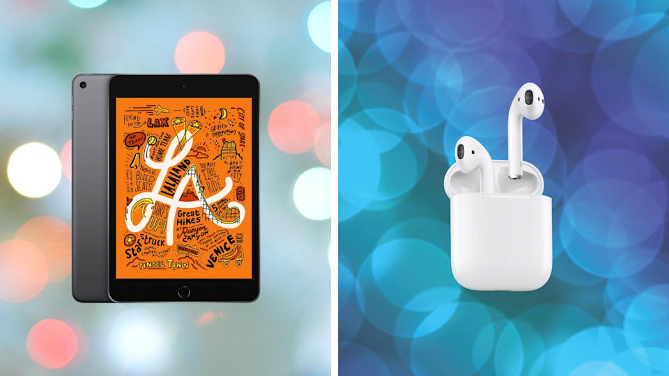 The best Amazon sales this week include these iPad Mini and Apple AirPods. (Photo: Apple)