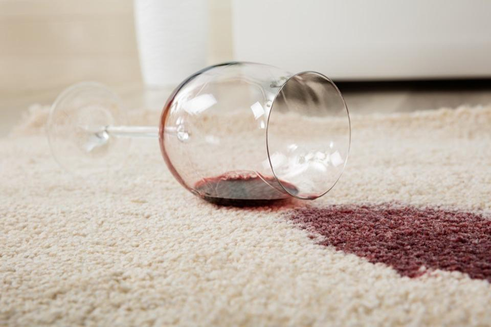Spilled Drink on Rug Awkward Moments