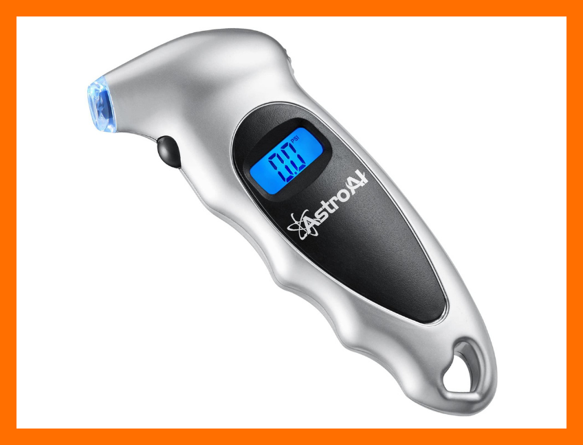 This AstroAI Digital Tire Pressure Gauge is only $10. (Photo: Amazon)