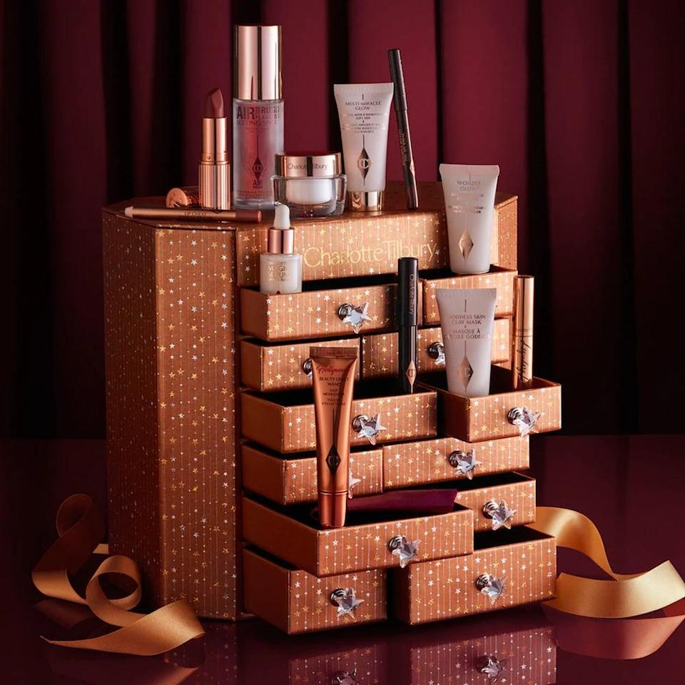 <p>If they're a luxury beauty lover, they'll be thrilled about this <span>Charlotte Tilbury Beauty Dreams &amp; Secrets Advent Calendar</span> ($200). It has 12 both full size and travel size Charlotte Tilbury products, from makeup to skin care.</p>