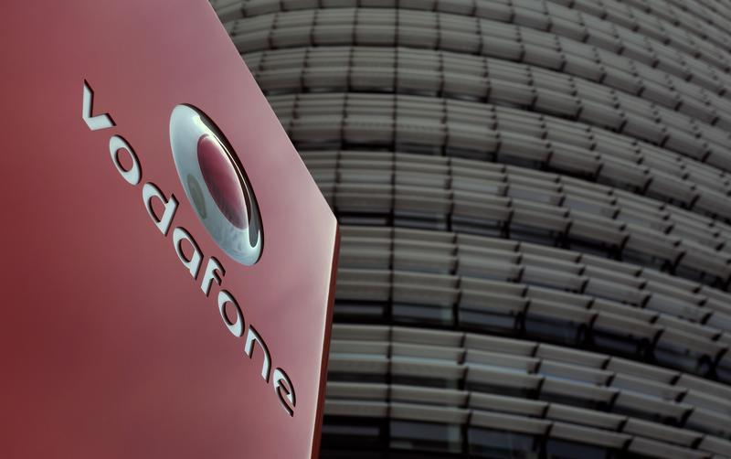The headquarters of Vodafone Germany are pictured in Duesseldorf