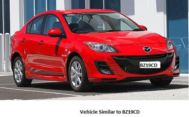 A picture of a car similiar to Stephanie Scott's. Photo: Supplied by NSW Police