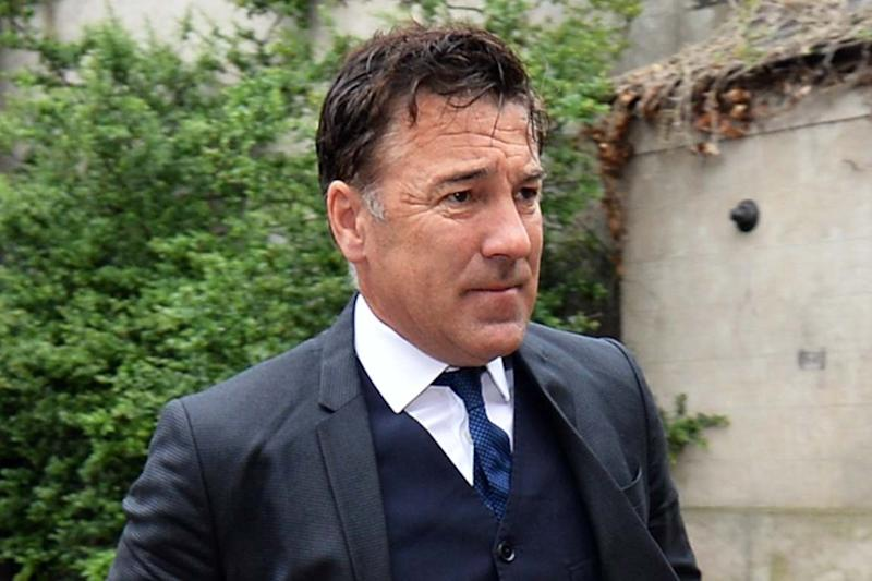 Dean Saunders arrives at Chester Magistrates' Court on Wednesday (PA)