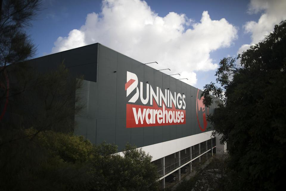A Bunnings Warehouse store, operated by Wesfarmers Ltd., in Sydney, Australia.