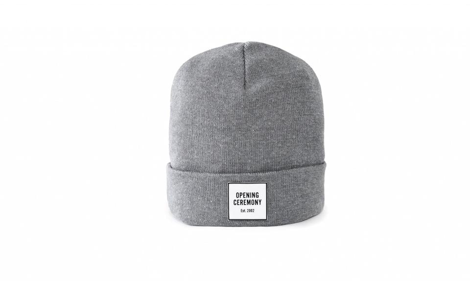 "<p>OC Logo Beanie, $40, <a href=""https://www.openingceremony.com/search.html?q=beanie"" rel=""nofollow noopener"" target=""_blank"" data-ylk=""slk:openingceremony.com"" class=""link rapid-noclick-resp"">openingceremony.com</a> </p>"