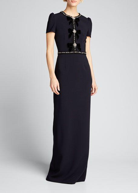 """<p><strong>Jenny Packham</strong></p><p>bergdorfgoodman.com</p><p><strong>$2925.00</strong></p><p><a href=""""https://go.redirectingat.com?id=74968X1596630&url=https%3A%2F%2Fwww.bergdorfgoodman.com%2Fp%2Fjenny-packham-velvet-bowed-cap-sleeve-gown-prod156400205&sref=https%3A%2F%2Fwww.townandcountrymag.com%2Fstyle%2Ffashion-trends%2Fg10344923%2Fkate-middleton-favorite-fashion-brands-designers%2F"""" rel=""""nofollow noopener"""" target=""""_blank"""" data-ylk=""""slk:Shop Now"""" class=""""link rapid-noclick-resp"""">Shop Now</a></p><p>Kate often wears feminine gowns and pretty dresses by this London-based designer.</p>"""