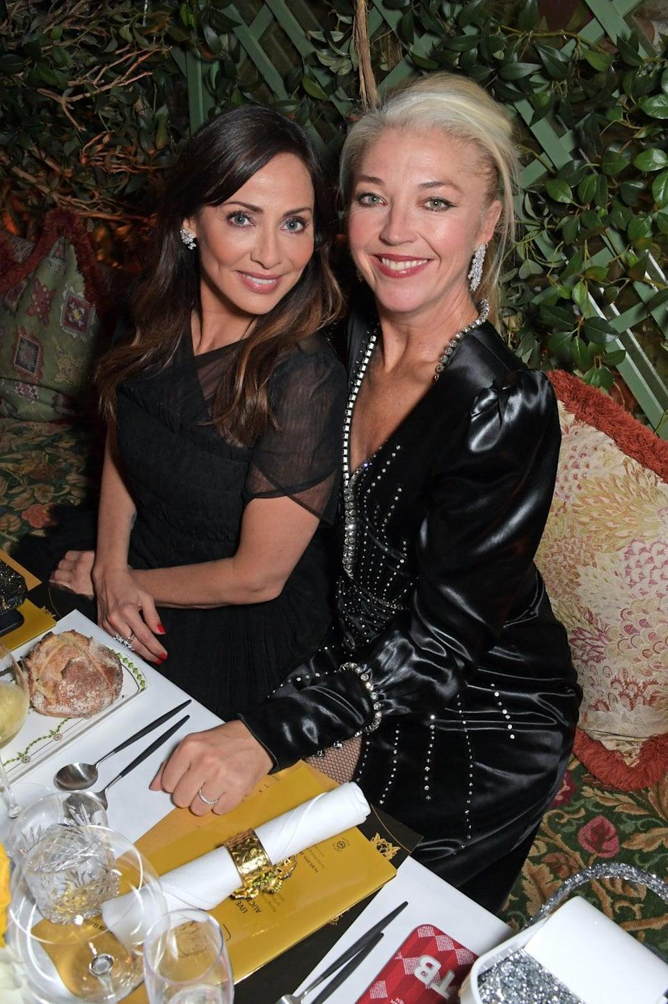 Natalie Imbruglia and Tamara Beckwith at the bash (Dave Benett/Getty Images for Ger)