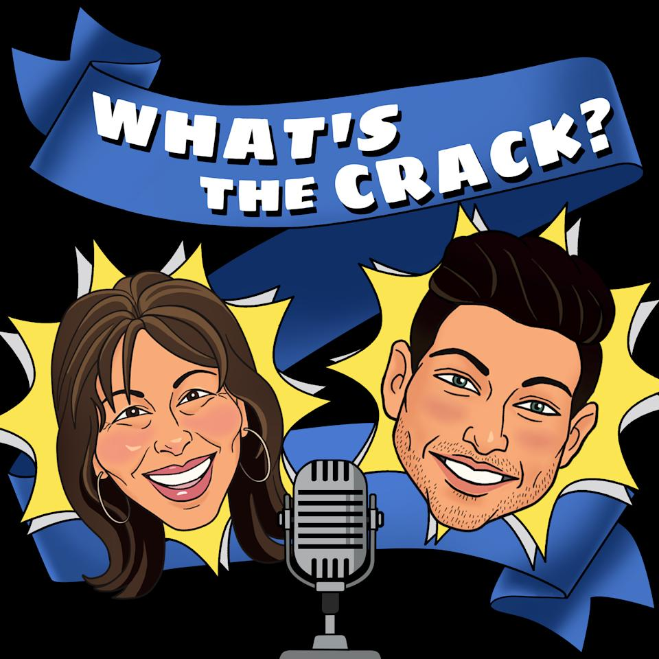 Anton Dulak and mum Sherie Ann host podcast What's The Crack (Podcast Radio)