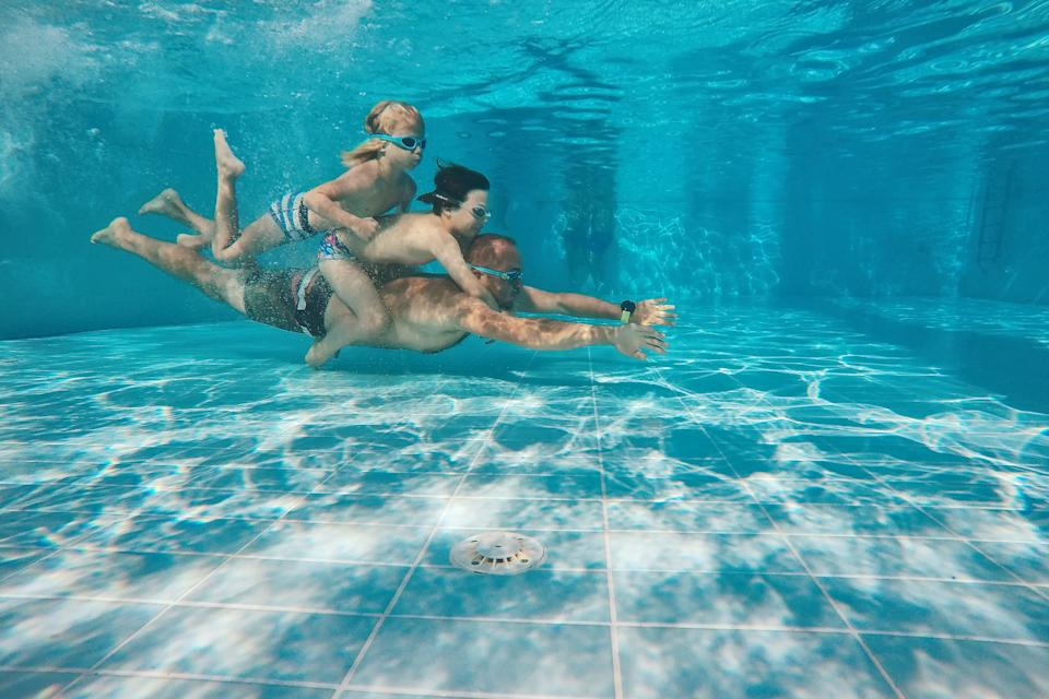 Parents are struggling to keep up with their active children this summer holiday. [Photo: Getty]