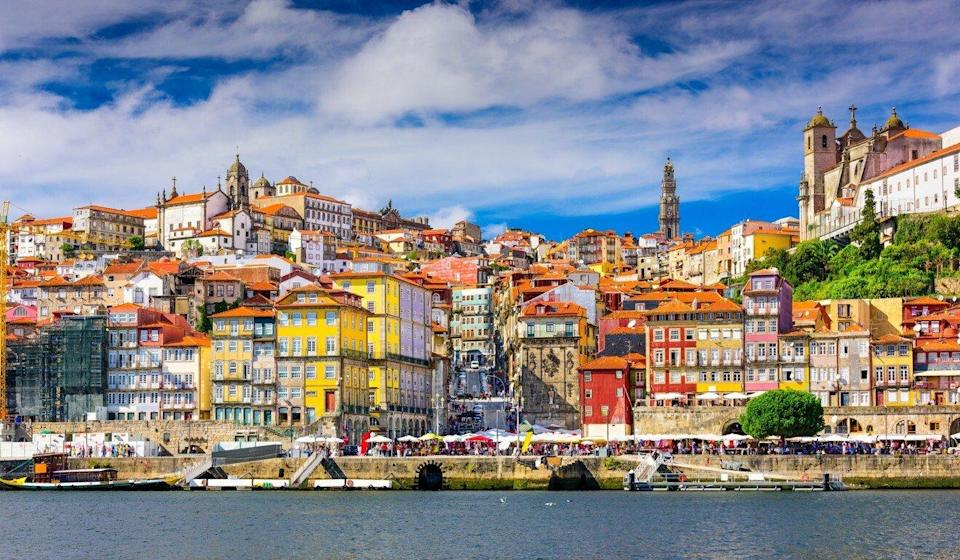 Porto's old town skyline from across the Douro River. Photo: Shutterstock