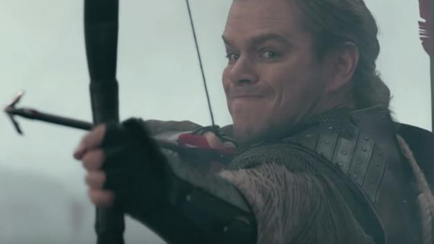 New trailer for The Great Wall premieres at Comic Con