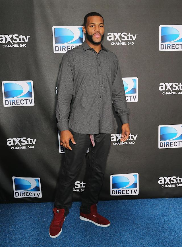 NFL player Braylon Edwards attends DIRECTV Super Saturday Night Featuring Special Guest Justin Timberlake & Co-Hosted By Mark Cuban's AXS TV on February 2, 2013 in New Orleans, Louisiana. (Photo by Neilson Barnard/Getty Images for DirecTV)