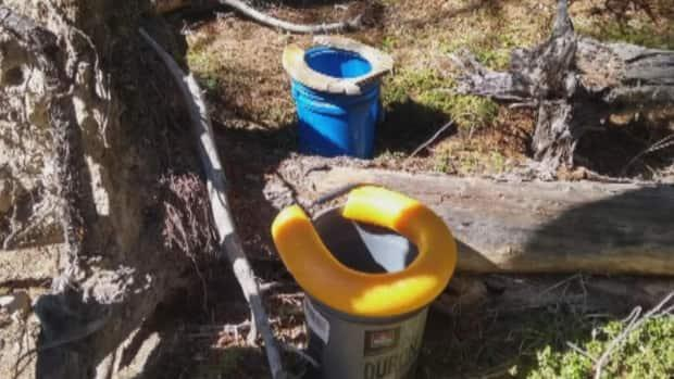 Hiker Nathaniel Schmidt said coming across items like a makeshift toilet on a recent hike reinforce the need for further enforcement in the McLean Creek area.