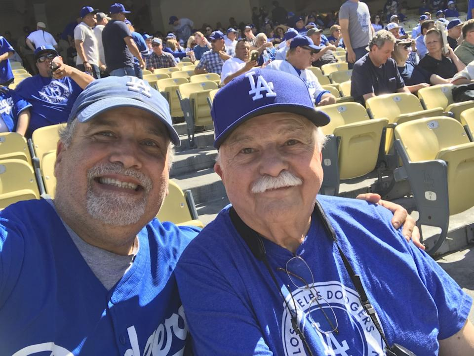 Stan and Philip Brooks, Dodgers fans