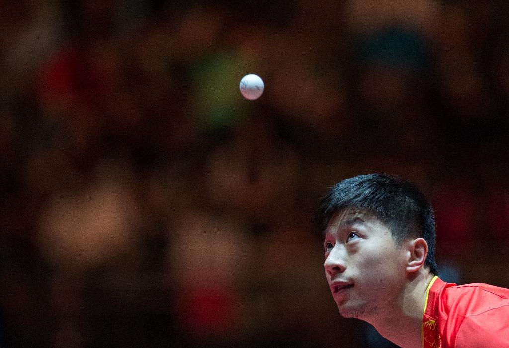 The powerful China men's table tennis team, including current world no.1 Ma Long, have pulled out of the Australian Open (AFP Photo/Jonas Güttler)