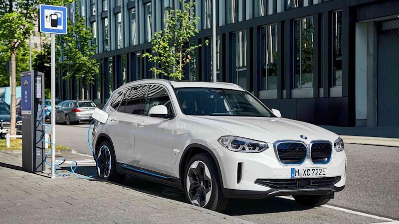 New BMW ix3 electric SUV