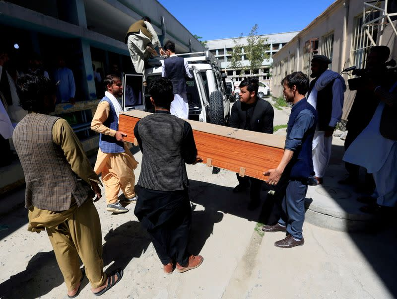 FILE PHOTO: Three female polio vaccination healthworkers shot dead, in Jalalabad