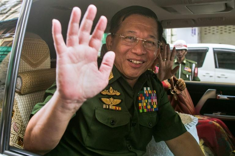 Min Aung Hlaing is an international pariah, having been banned on Facebook and under US sanctions